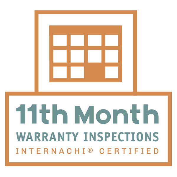 InterNACHI Certified 11th Month Warranty Home Inspections
